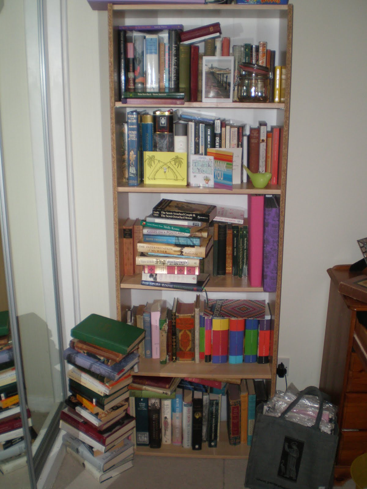 Amazing photo of What do your bookshelves say about you? with #694336 color and 1200x1600 pixels
