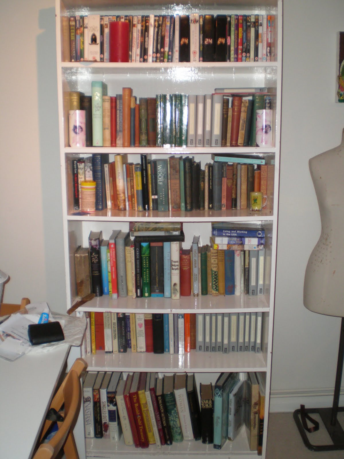 Superb img of So…what do my bookshelves say about me? I think they show that I: with #966135 color and 1200x1600 pixels