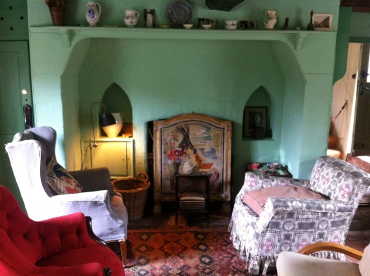 virginia woolf living room