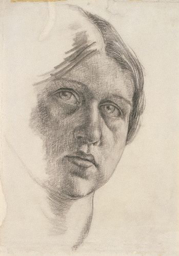 NPG 6736; Dora Carrington by Dora Carrington