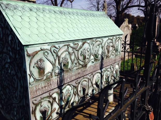 fancy grave