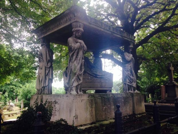 kensal green tomb
