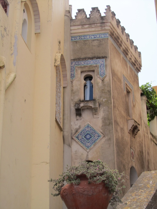 moorish architecture, capri